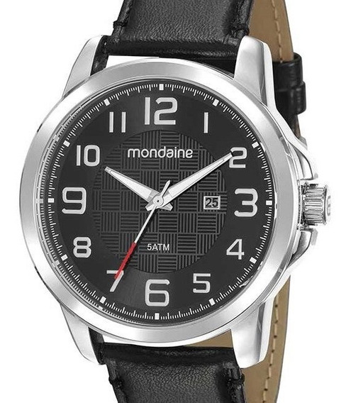 Relógio Mondaine Masculino Couro 99426g0mvnh1