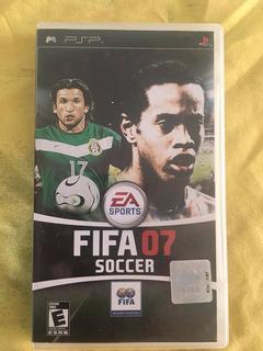 Fifa 07 Soccer (con Manual) Psp