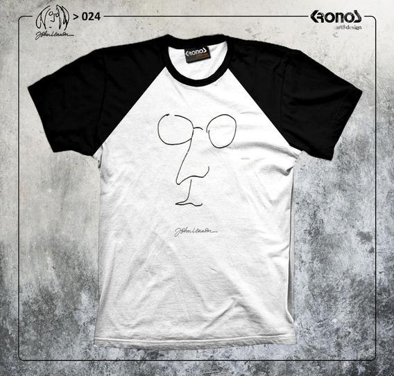 Remera John Lennon The Beatles Retro John & Yoko Imagine 024