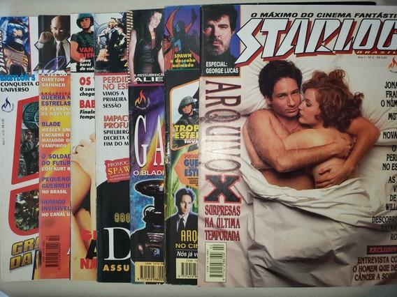 Lote Starlog 2 4 5 6 9 10 12 Mythos Editora 1997 Excelentes
