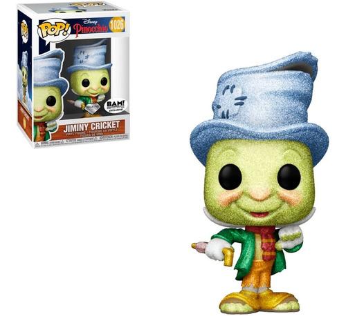 Imagem 1 de 4 de Funko Pop Disney Pinochio Jiminy Pinoquio 1026 Diamond Grilo