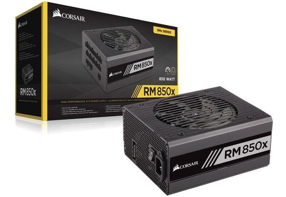 Fonte Corsair 850w Rmx 80plus Gold Mod. Atx12v V2.4 S/cabo