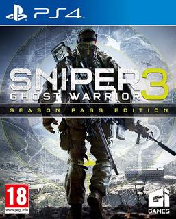Sniper Ghost Warrior 3 + Season Pass ~ Ps4 Digital Español