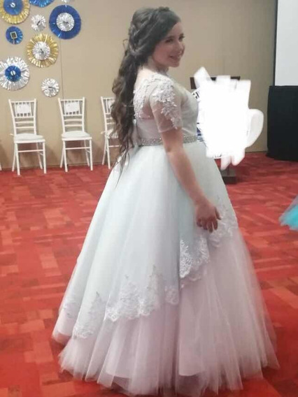 Vestido De Graduación Tipo Princesa