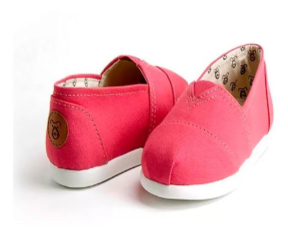 Alpargata Infantil E Alpargata Bebê Rosa Pink Chiclete