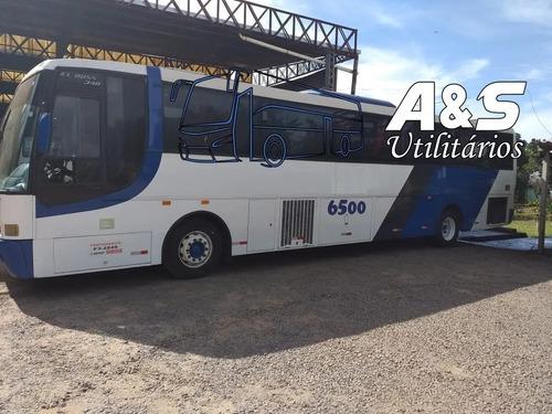 Imagem 1 de 10 de Busscar Ell Buss Ano 2000 Scania 124 Completo 50 Lug Ref 650