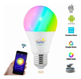 Foco Wifi Led, Google Home, Alexa, Ios / Android