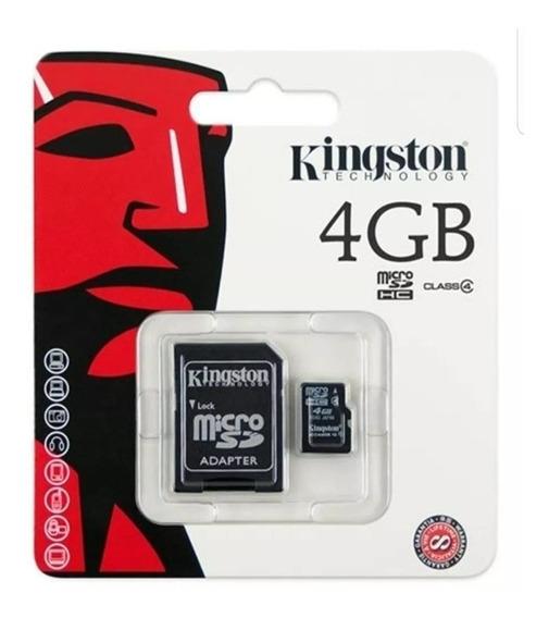 Cartão De Memória 4gb Kingston Original