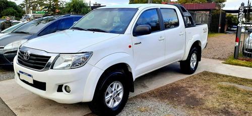 Toyota Hilux 2.7 4x4 Nafta Impecable Ficha En Servicio.