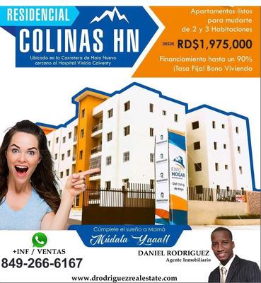 Apartamentos Disponibles En Residencial Colinas Hn