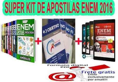 Kit Completo Para Enem E Vestibulares Do Brasil.