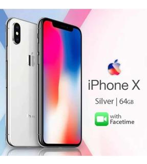 iPhone X 64gb Lacrado!! Prata, Desbloqueado.