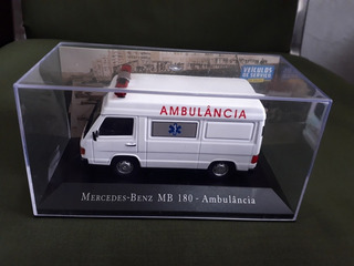 Veículos De Serviço Do Brasil Mercedes Benz Mb 180ambulância