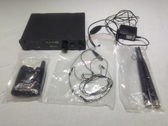 Microfone S/fio Digital Wireless Headsetline 6 V55hs