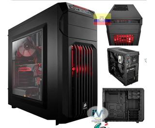 Case Gamer Corsair Spec-01 Atx Media Torre Negro Con Led Azu