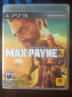 Max Payne 3 Ps3 -- The Unit Games