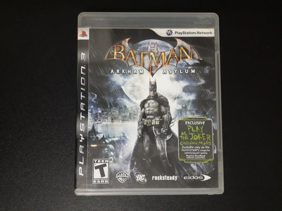 Batman Arkham Asylum Ps3 Usado
