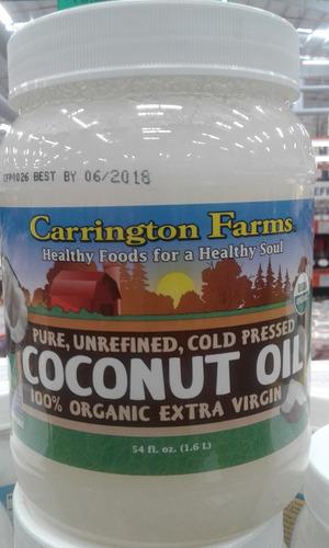 Aceite De Coco Extra Virgen Importado Carrinton Farms