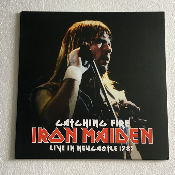 Iron Maiden Lp Catching Fire Live In Newcastle 1983 Vinil