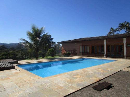 Imagem 1 de 30 de Chácara Com 3 Dormitórios À Venda, 5500 M² - Morada Da Lua - Vinhedo/sp - Ch0084