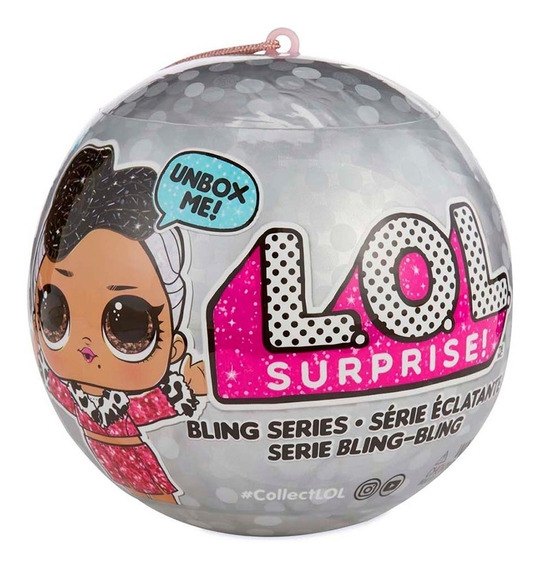 Lol Surprise Dolls Serie Bling Bling Glit (edición Especial)