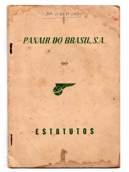Estatutos Da Panair Do Brasil - 1955