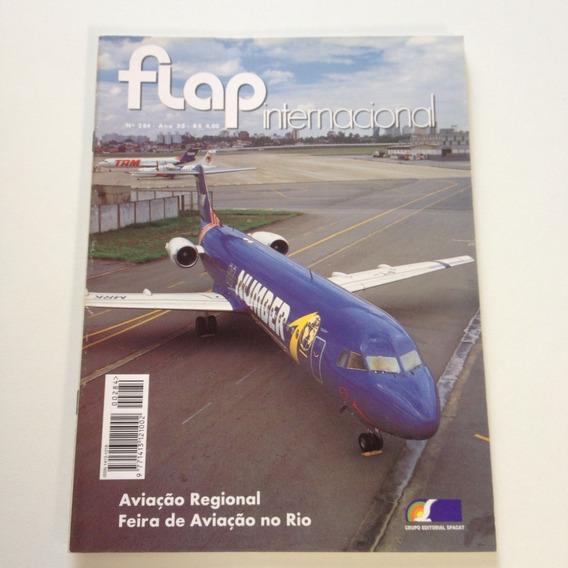 Revista Flap Internacional 284 Feira De Aviação No Rio C573