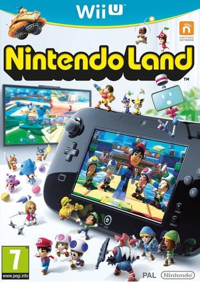 Nintendo Land Wii U Original Nintendo Jogo Lacrado Game