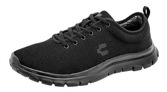 Charly Sneaker Urbano Negro Textil Niño J57619 Udt