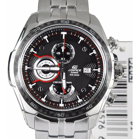 Relógio Masculino Casio Aço Edifice Cronógrafo Ef-565d-1avdf