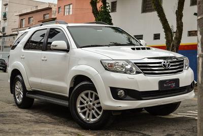 Toyota Hilux Sw4 Srv - Único Dono - Interior Caramelo - 2014