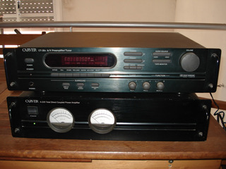 Pre Y Potencia Carver Con Radio Made In Usa Excelente! 110 W