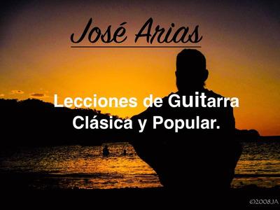 Clase De Guitarra Popular Y Clásica (personalizadas)