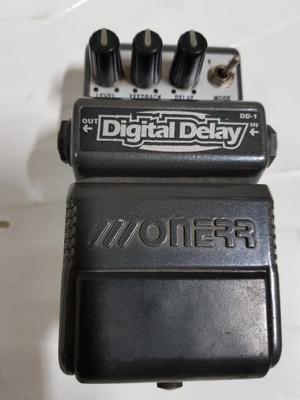 Pedal Guitarra Dd1 Digital Delay Onerr - Super Conservado!!