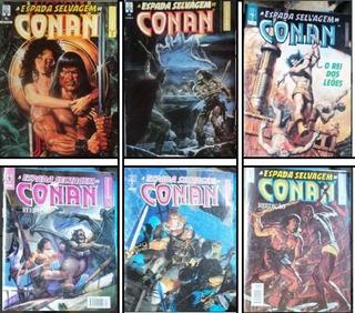 Hq Lote - A Espada Selvagem De Conan - 42-49-57-61-67-70-71