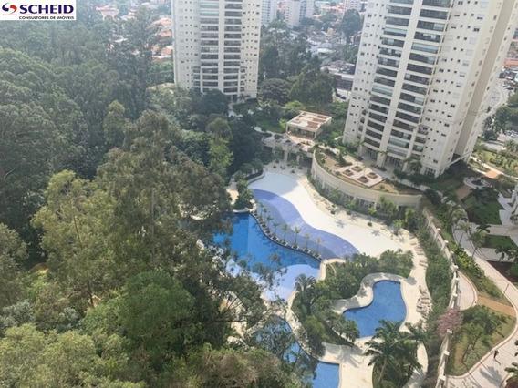Apto. No Contra Piso Com Linda Vista Para O Parque Aquatico - Mr67817