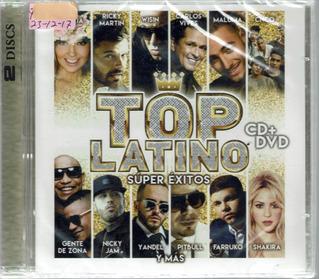 Top Latino Super Exitos Cd+dvd