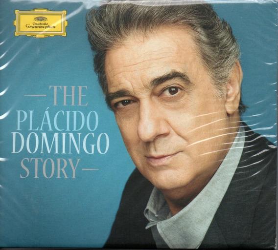 Cd Plácido Domingo Story - Box Com 3 Cds