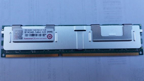 Memoria 8gb Transcend Ddr3 1333 Reg-dim Cl9