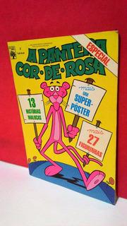 Gibi A Pantera Cor De Rosa Especial Nº2 - Hq Da Abril/1987