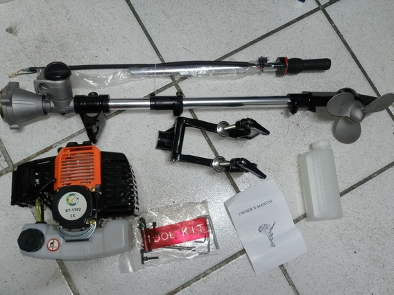 Motor Barco Popa Caiaque Rabeta Vertical 52cc Siga Tools