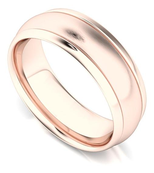 Argolla Confort Giratoria Baño Oro Rosa Matrimonio 8313559