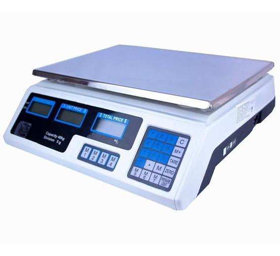 Bascula Digital 40 Kg Comercial Negocio Peso