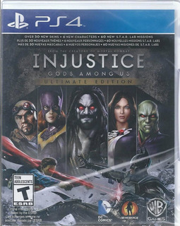 Injustice Gods Among Us Ultimate Edition Ps4 Nuevo Y Sellado
