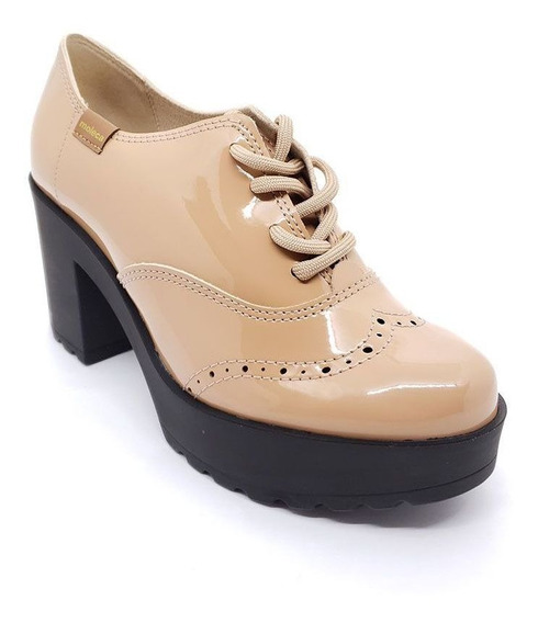 Sapato Oxford Moleca - 5647107 Original C/ Garantia + Nf-e