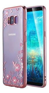 Funda Celular Samsung Galaxy S8 + Plus Tpu (rose Gold)