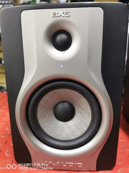 Monitor M-audio Bx5 Carbon Speaker Par Zerado!
