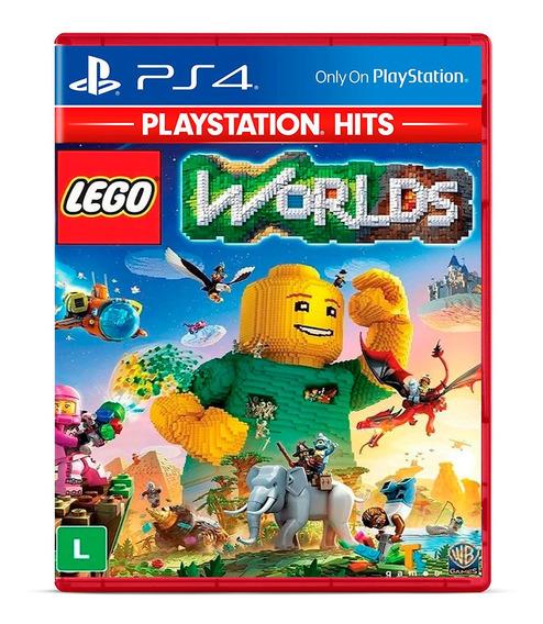 Lego Worlds Jogo Mídia Física Ps4 Lacrado