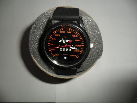Relógio Com Tema Automotivo, Gti