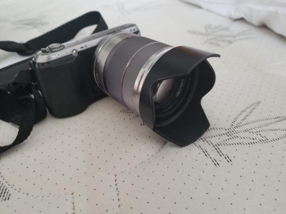 Câmera Fotográfica Mirrorless Sony Nex-c3 16.2 Mp Hd